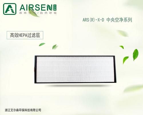 艾尔森HEPA空气净化过滤网无需单独耗电的室内空气净化产品;