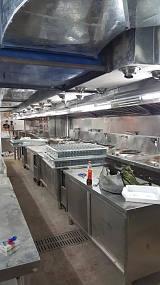 饭堂商用厨房设备、烟罩烟管、地下室通风管道、空调管道、;