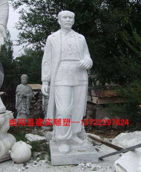 供应医院主题雕塑白求恩雕像, 汉白玉白求恩像