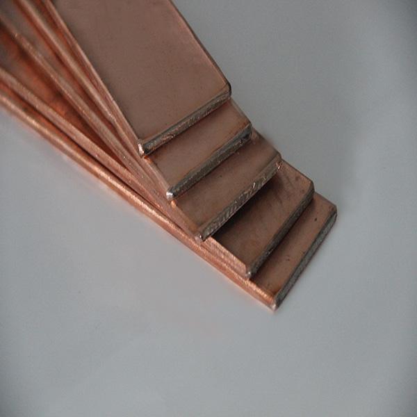 生产加工供应富沃德镀铜扁钢接地材料;