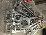 格构式内悬浮组塔工具 格构式内悬浮抱杆铝镁合金材质;