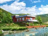 西藏民族风情景观设计;