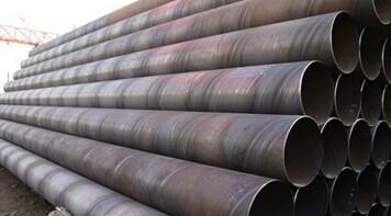 昆明螺旋管价格 昆明325螺旋管 昆明螺旋焊管 材质Q235B 规格300x10;