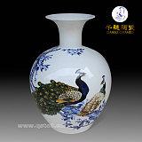 手绘花瓶 手绘花瓶创意 艺术手绘花瓶;