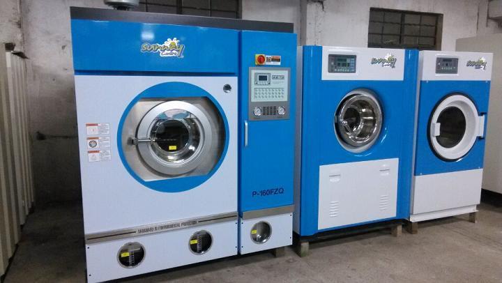 承德出售二手9成新赛维水洗机 干洗机 烘干机;