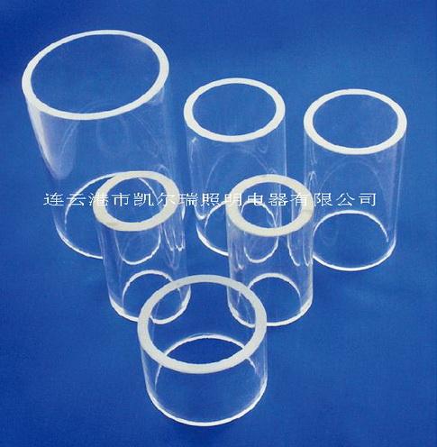 生产批发高纯度石英玻璃管;