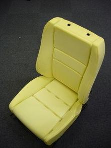 聚氨酯制品。聚氨酯定型海绵。一体成型座椅;
