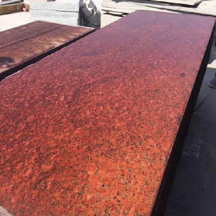雅典红染色板梨花红红色染板河南专业染板工厂