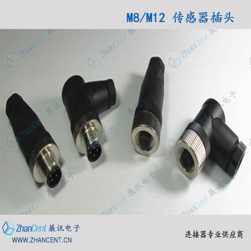 M8现场接线型圆形连接器