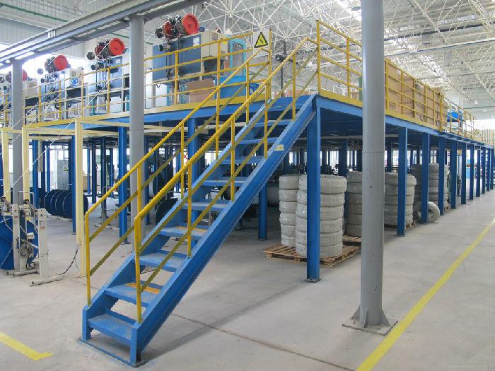 优质工字钢仓储货架;