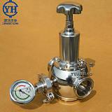 卫生级减压阀 食品级快装卡箍式蒸汽减压阀 高洁净制药减压阀