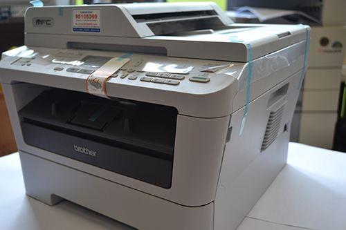 兄弟7360打印、复印、传真、扫描一体机