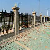 江阴防护栅栏 江阴建筑护栏 锌钢喷涂组装式护栏 龙桥厂家定制;