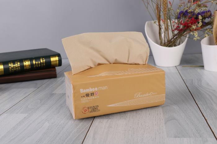 供应四川竹浆纸抽取式餐巾纸厂家直销贴牌加工;