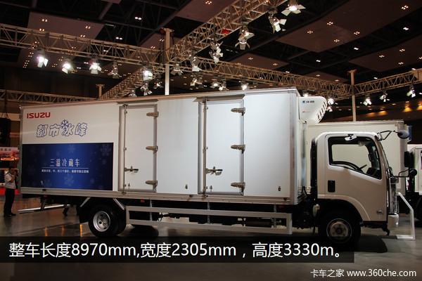 五十铃700P冷藏车可分三个温区 连云港五十铃提供;