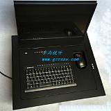 办公会议隐藏设备电脑液晶屏电动翻转器桌面液晶屏翻转机