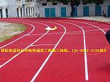 学校EPDM塑胶跑道 硅PU丙烯酸PVC卷材运动地坪材料和施工;