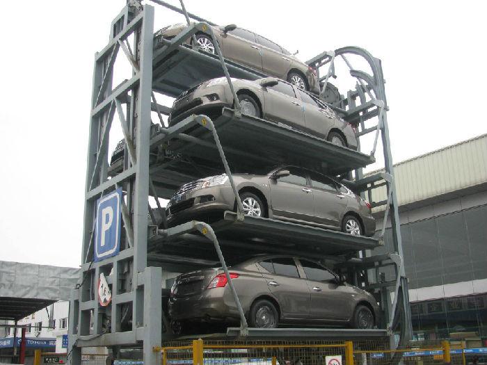 沈阳建伟-垂直循环类机械式停车设备;