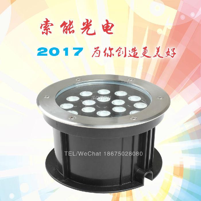 LED地埋灯 DMX512控制器18W地埋灯索能批发;