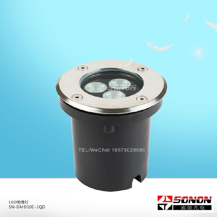 LED地埋灯SN-DMD100-3QD LED地埋灯生产厂家;