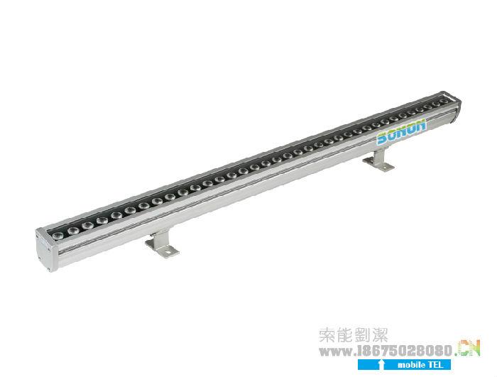 索能18W洗墙灯,24W洗墙灯,专利防水LED灯;