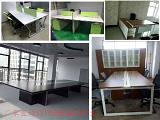 現代辦公桌椅、屏風隔斷、班臺、文件柜、會議桌;
