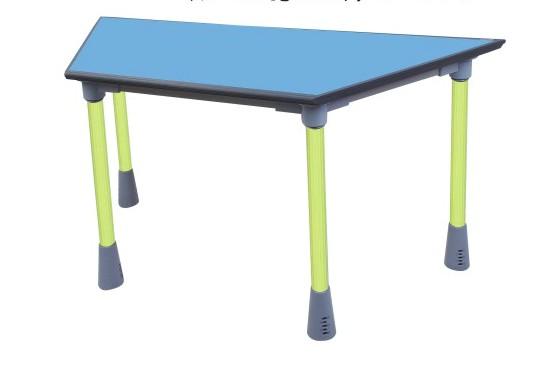 聚氨酯PU发泡桌 梯形桌 扇形桌 自结皮桌面制品 发泡成型