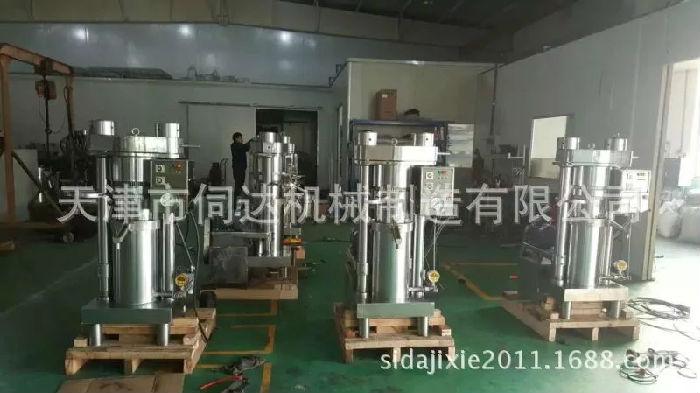 进口商用榨油机小型家用榨油机冷榨多功能韩国哈那牌榨油机械成套设备;