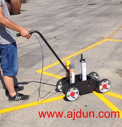 油漆划线车D型 油漆划线器套装;