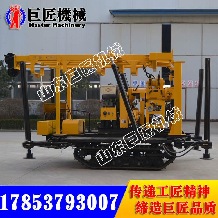 XYD-130打井机 液压底盘稳定强 履带钻机 履带液压钻井机;