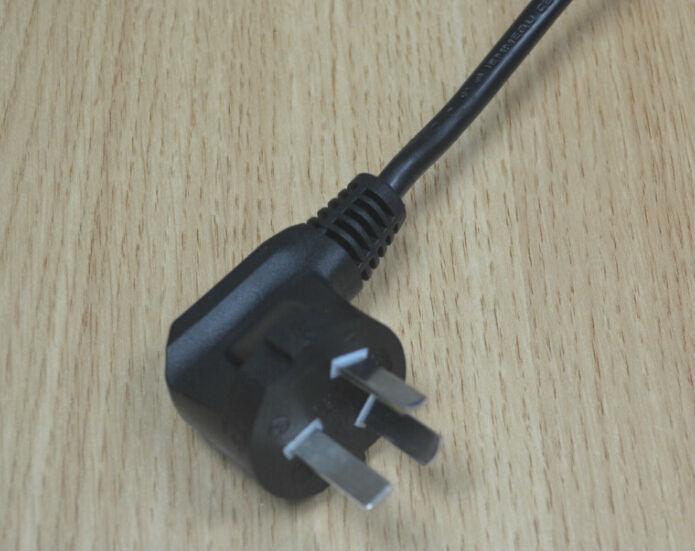 国标三插 3C认证 CCC 90°插头 CCC插头电源线;