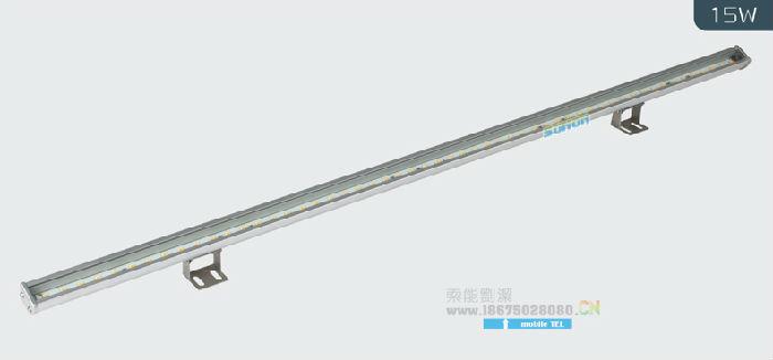 彩色贴片LED洗墙灯12W15W21W大功率索能洗墙灯,厂家批发;