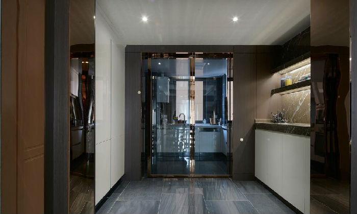 【吉筑装饰】120平现代风格三居室案例;