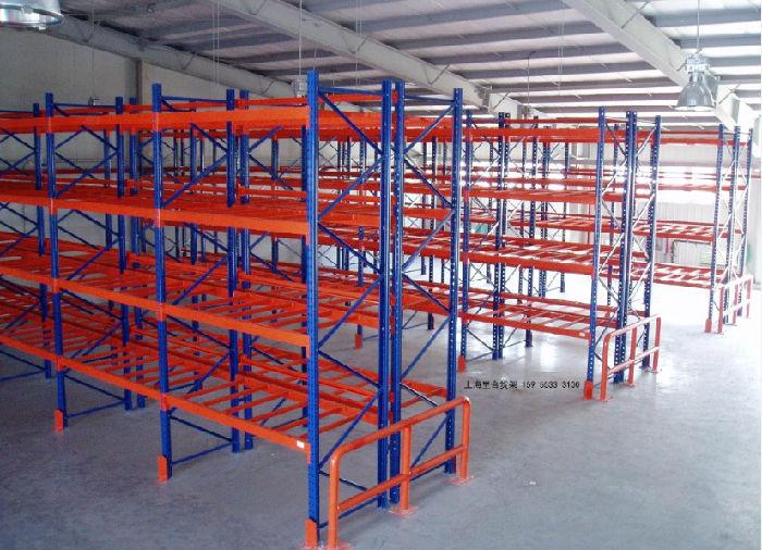供应仓储用横梁式货架,采用优质宝钢型材,质优价廉;