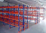 供應倉儲用橫梁式貨架,采用優質寶鋼型材,質優價廉;
