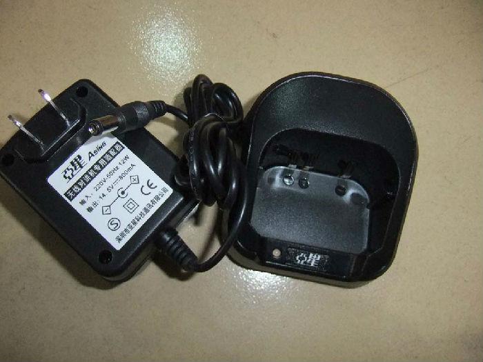 桐能达对讲机厂A1A100对讲机专用充电器;