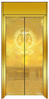 電梯轎廂裝潢、自動扶梯裝潢。;