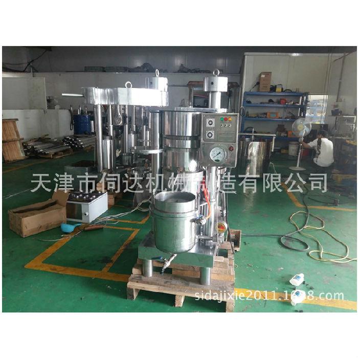 商用大型液压榨油机韩国哈那牌香油机茶籽油加工机械设备;