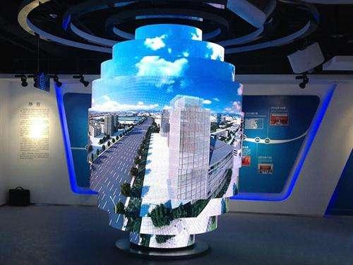 佛山高质量低耗电透明LED显示屏;