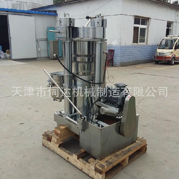 冷榨榨油机韩国液压哈那牌香油机全自动小型商用榨油机;
