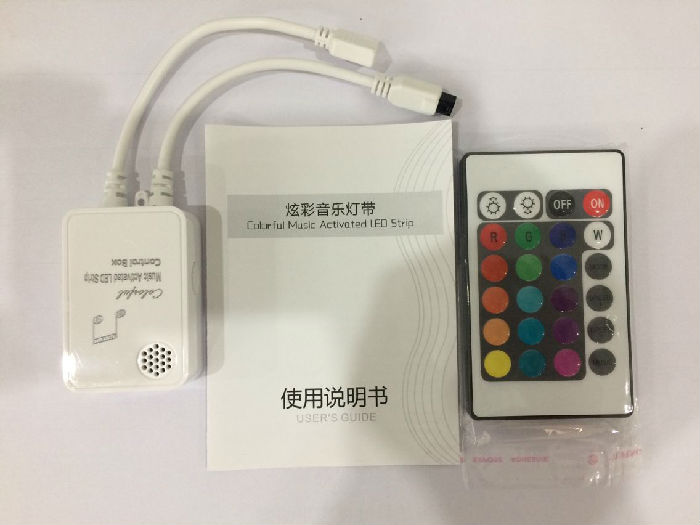 12V灯带音乐控制器、灯带控制器、12V灯带控制器、LED灯带控制器;