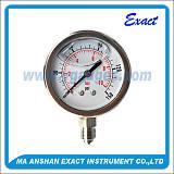 全钢充油压力表;