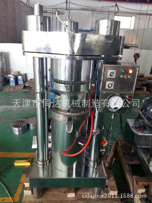 新型冷榨亚麻籽油核桃油紫苏油榨油机进口商用大型多功能压榨设备;
