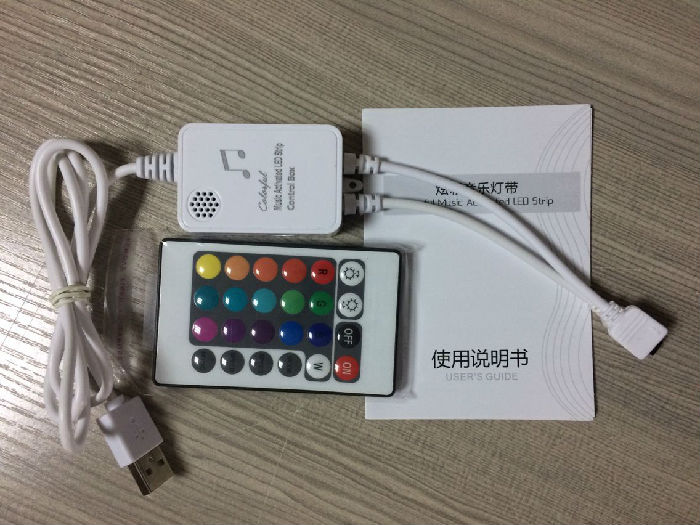 5V灯带音乐控制器、灯带控制器、5V灯带控制器、LED灯带控制器;