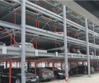 沈阳建伟-升降横移类机械式停车设备;