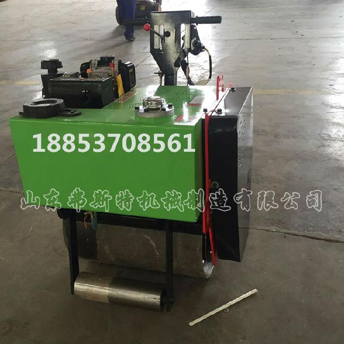 大厂保证 手扶单轮压路机价格 宽径轮振动压土机
