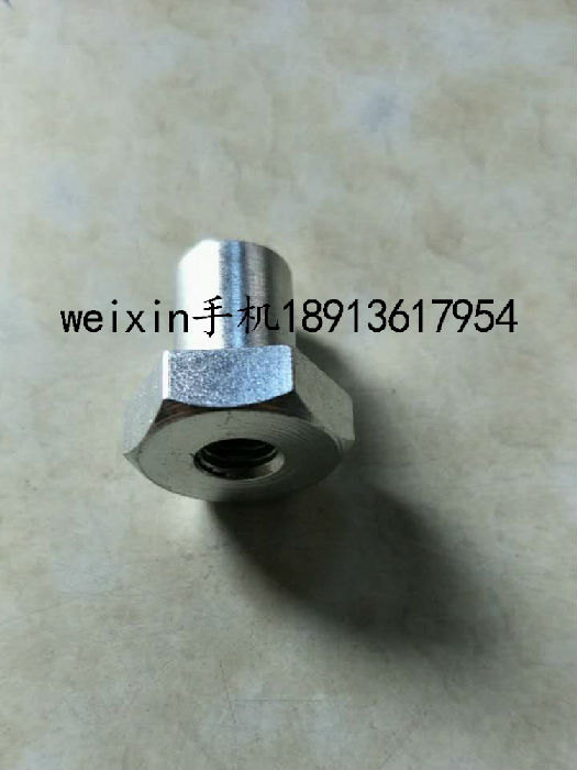SF6高压充气柜DXG-12配件开关柜成套金件短支撑压帽六角19*20镀白;