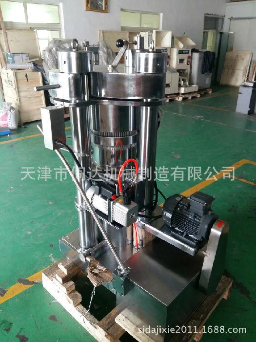 液压榨油机配件小型家用香油机核桃油加工机械设备厂家直销;