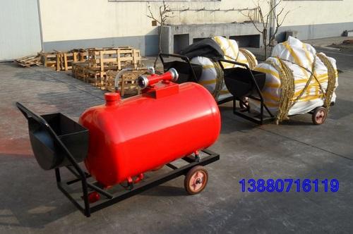 移动式低倍数泡沫灭火装置;