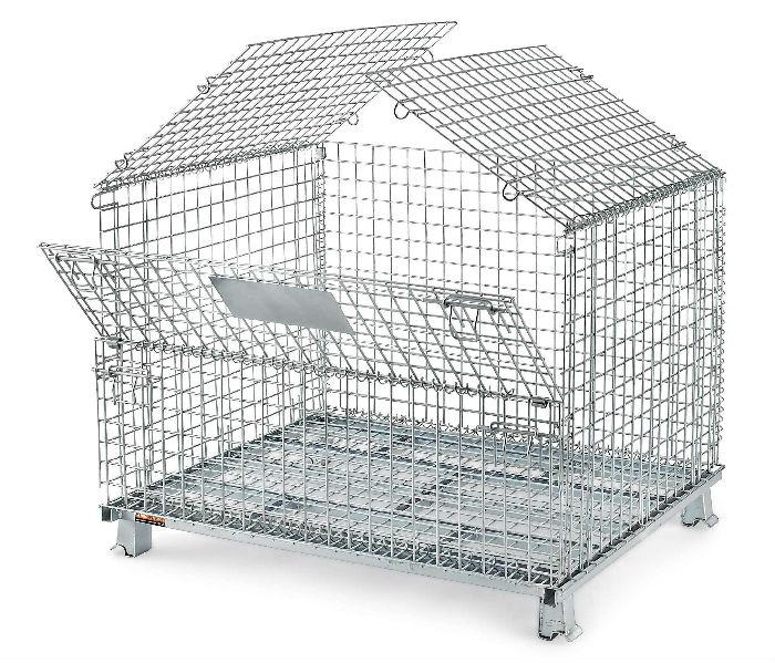 折叠式镀锌笼;